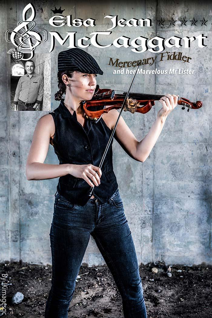 Elsa Jean McTaggart The Mercenary Fiddler Poster 2018