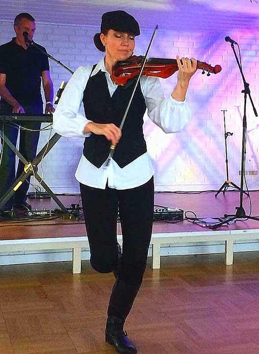 The Mecenary Fiddler Elsa Jean McTaggart