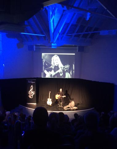 Elsa Jean MctAggart with her Eva Cassidy show at The Edinburgh Fringe in 2017