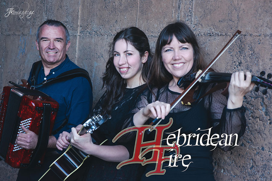 Elsa Jean McTaggart with Hebridean Fire