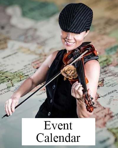Elsa Jean McTaggart events calendar.