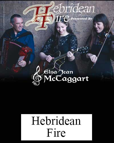 Hebridean Fire Show with Elsa Jean McTaggart.